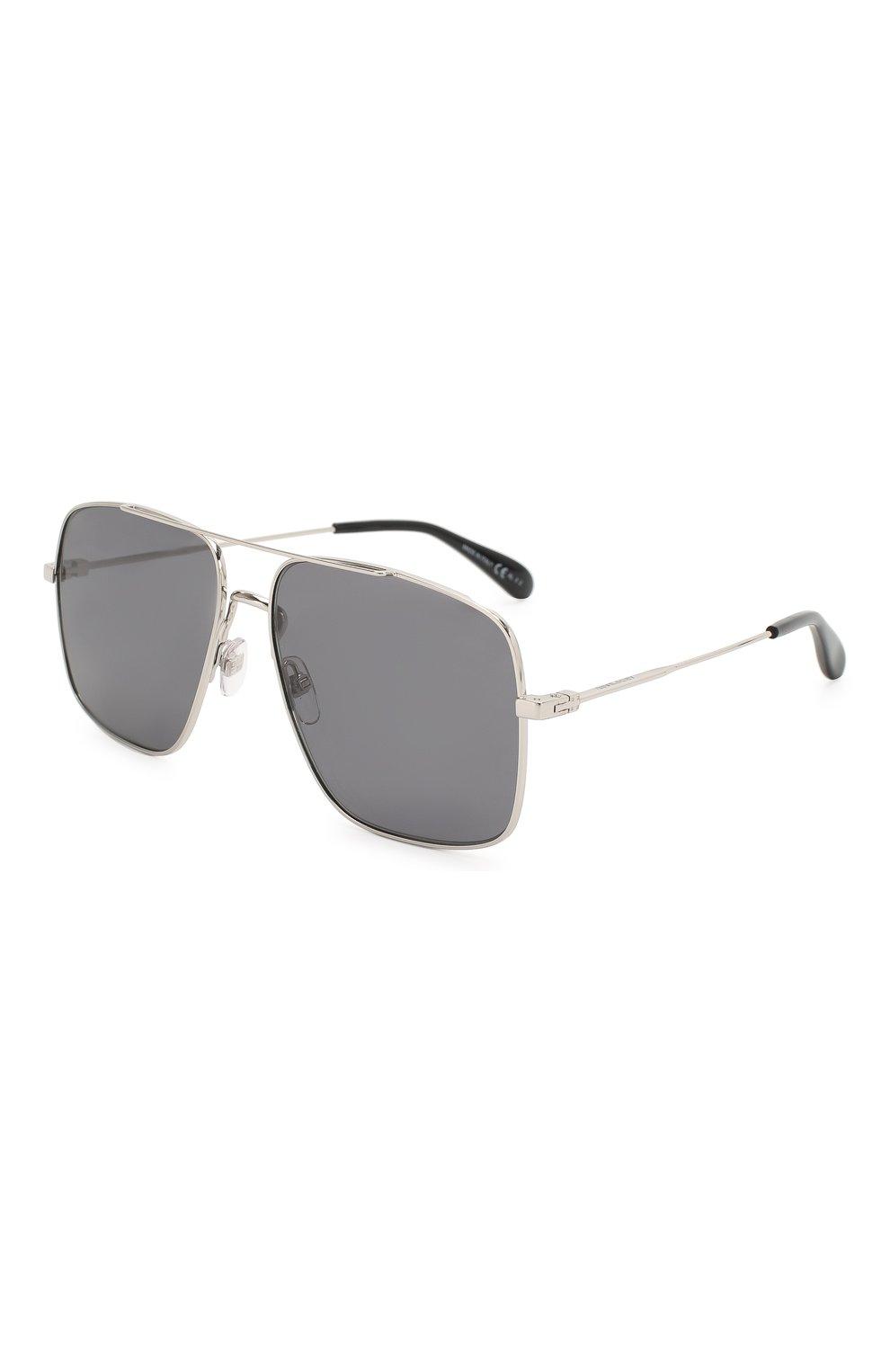 Мужские солнцезащитные очки GIVENCHY серого цвета, арт. 7119 010   Фото 1