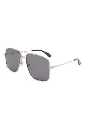 Мужские солнцезащитные очки GIVENCHY серого цвета, арт. 7119 010 | Фото 1