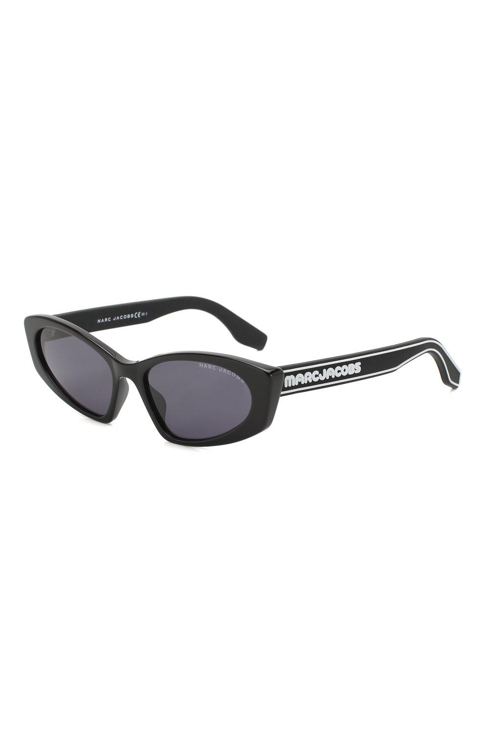 Женские солнцезащитные очки MARC JACOBS (THE) черного цвета, арт. MARC 356 807 | Фото 1