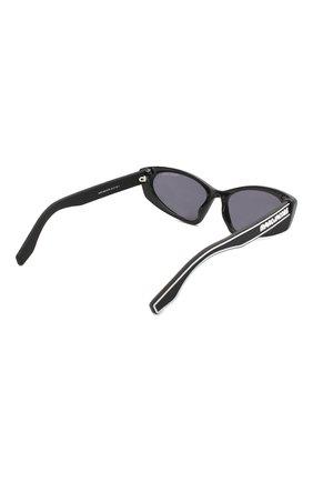Женские солнцезащитные очки MARC JACOBS (THE) черного цвета, арт. MARC 356 807 | Фото 4