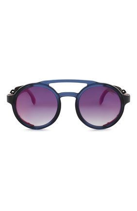 Мужские солнцезащитные очки CARRERA синего цвета, арт. CARRERA 5046 IPQ   Фото 2 (Статус проверки: Проверена категория; Тип очков: С/з; Очки форма: Круглые; Оптика Гендер: оптика-унисекс)
