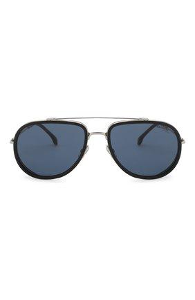 Мужские солнцезащитные очки CARRERA черного цвета, арт. CARRERA 166 010   Фото 2 (Статус проверки: Проверена категория, Требуются правки; Тип очков: С/з; Оптика Гендер: оптика-мужское)