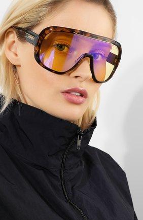 Женские солнцезащитные очки CARRERA коричневого цвета, арт. CARRERA EPICA SCL   Фото 2 (Статус проверки: Проверена категория; Тип очков: С/з)