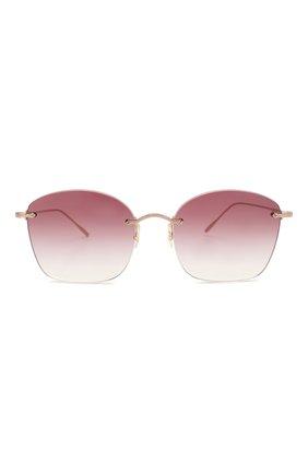 Женские солнцезащитные очки OLIVER PEOPLES бордового цвета, арт. 1265S-50378H | Фото 3