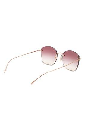 Женские солнцезащитные очки OLIVER PEOPLES бордового цвета, арт. 1265S-50378H | Фото 4