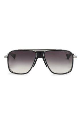 Мужские солнцезащитные очки DITA черного цвета, арт. INITIAT0R/01 | Фото 2