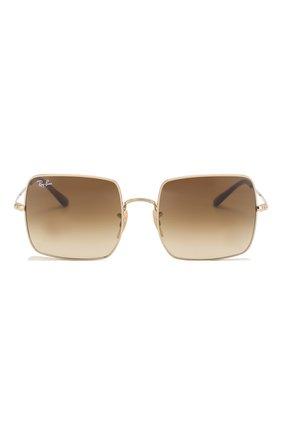 Солнцезащитные очки Ray-Ban коричневые | Фото №3