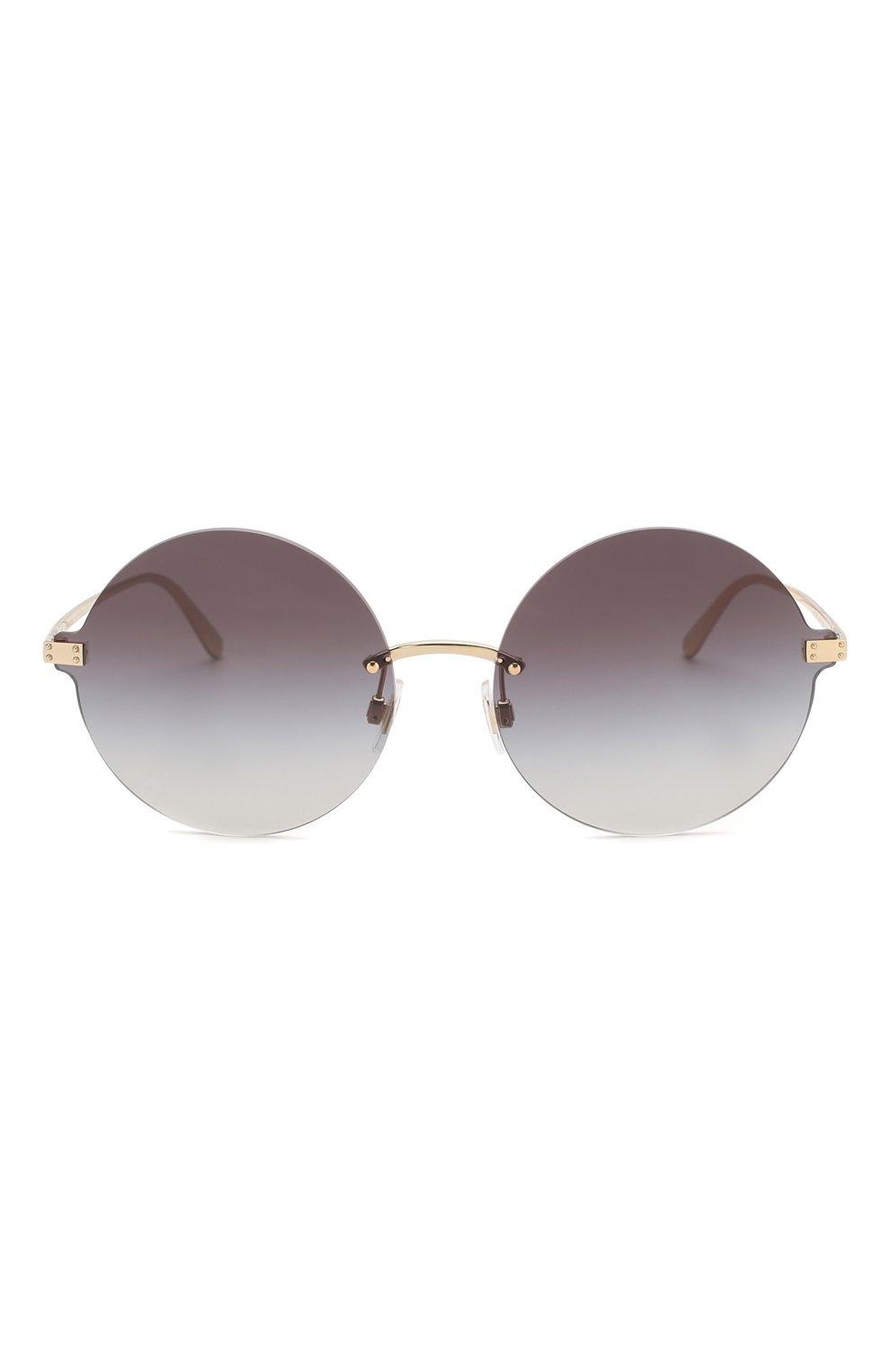 Солнцезащитные очки Dolce & Gabbana темно-серые | Фото №3