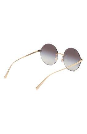 Солнцезащитные очки Dolce & Gabbana темно-серые | Фото №4