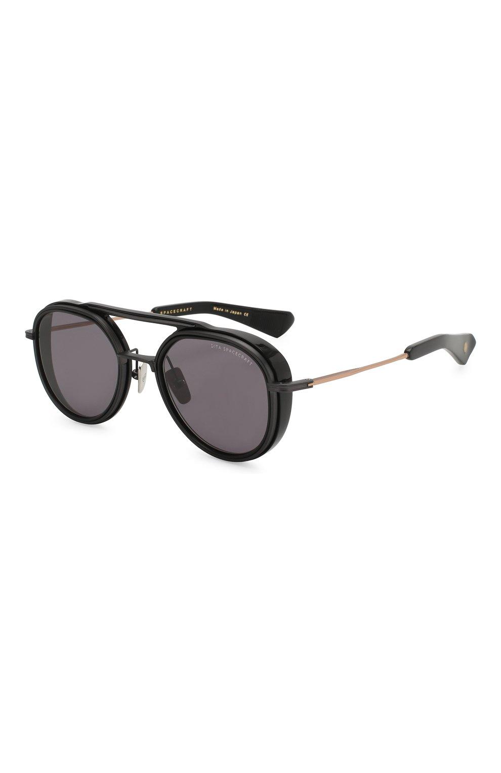 Мужские солнцезащитные очки DITA черного цвета, арт. SPACECRAFT/19017B | Фото 1