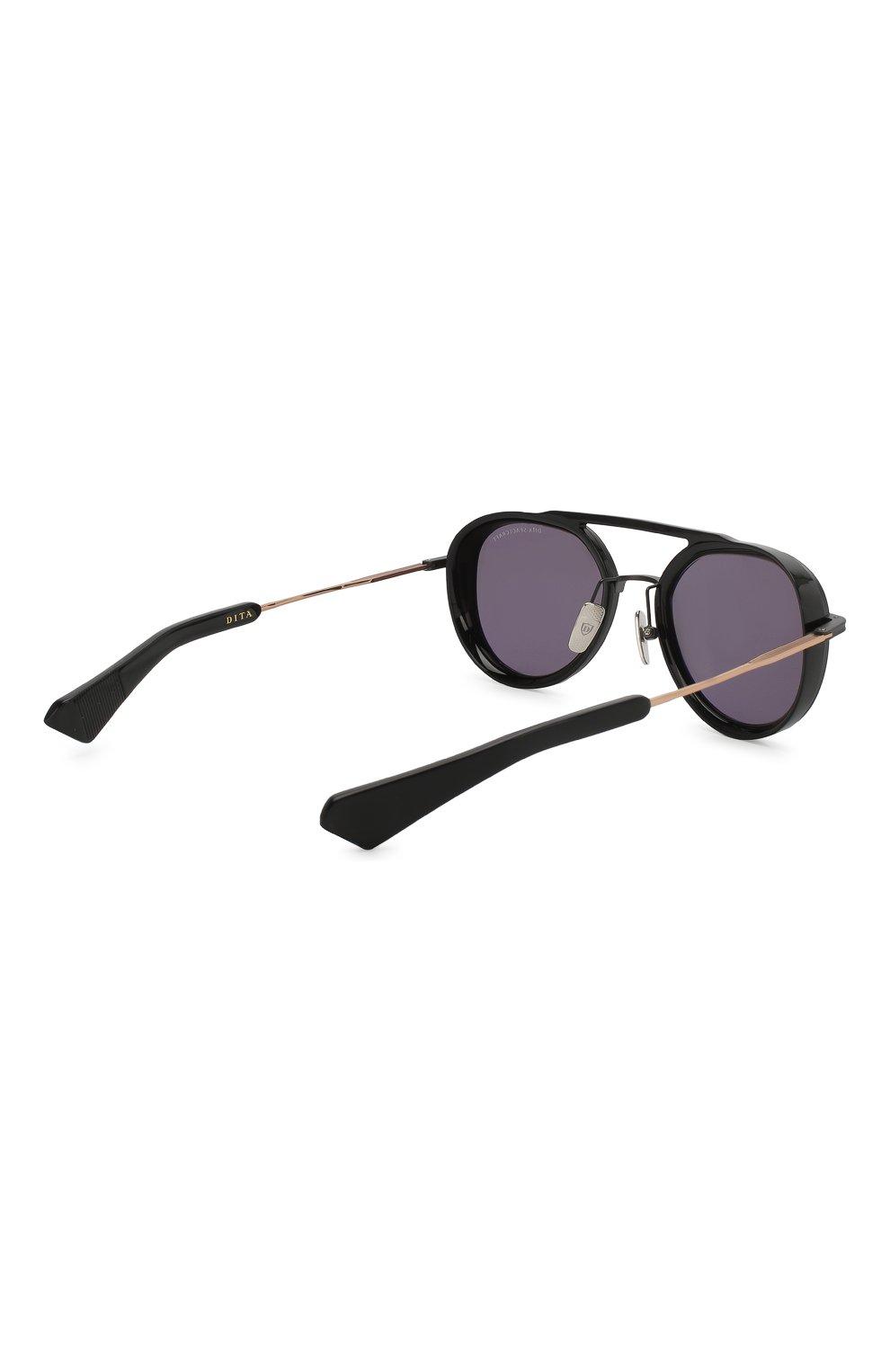 Мужские солнцезащитные очки DITA черного цвета, арт. SPACECRAFT/19017B | Фото 3