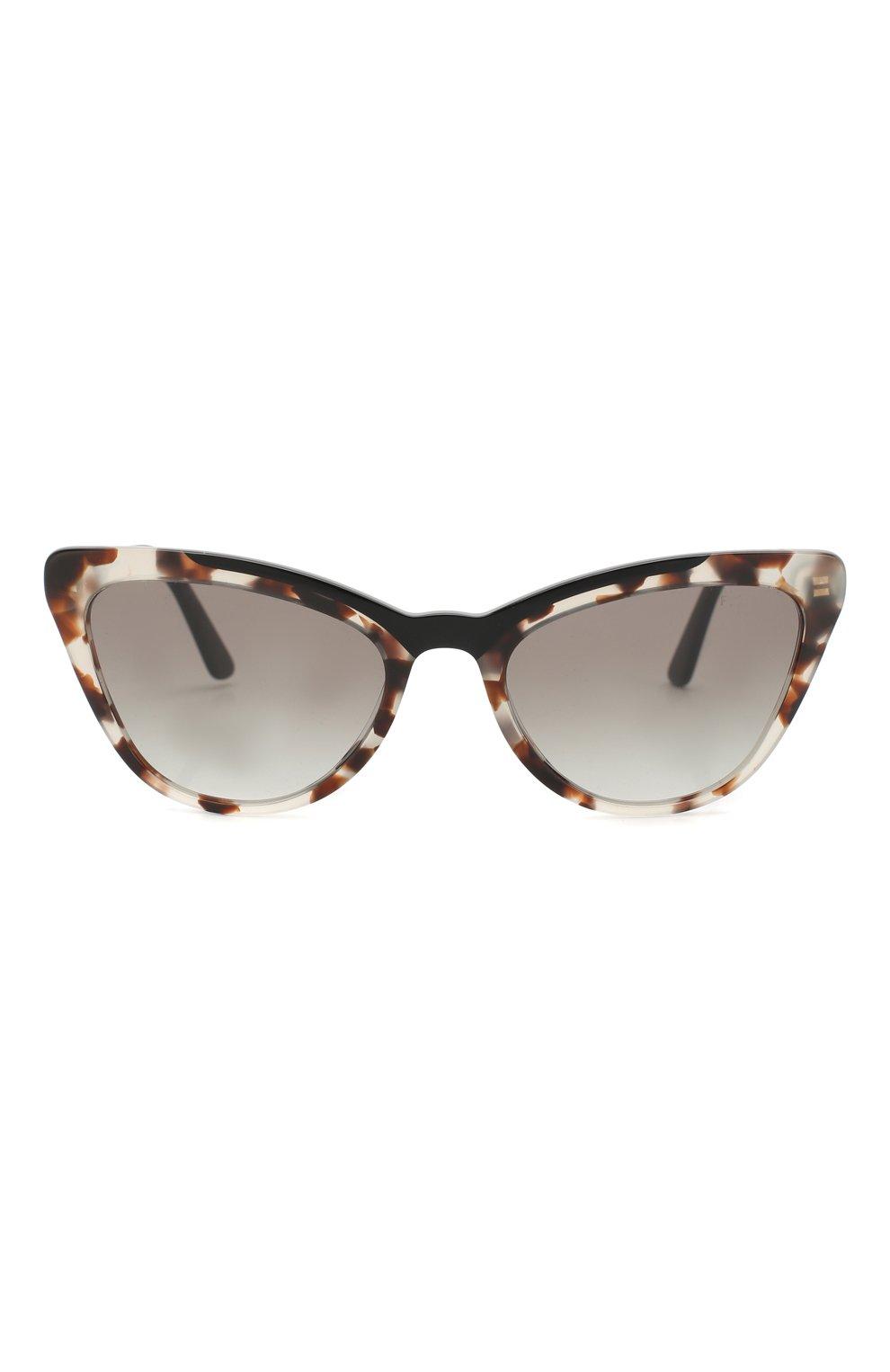 Солнцезащитные очки Prada коричневые | Фото №3