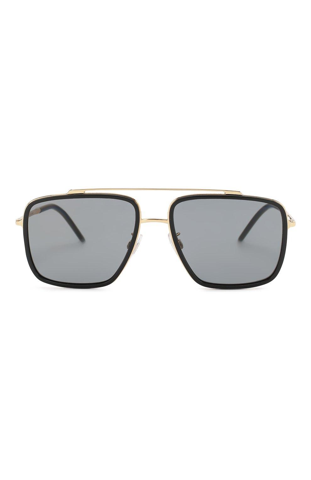 Мужские солнцезащитные очки DOLCE & GABBANA черного цвета, арт. 2220-02/81 | Фото 2