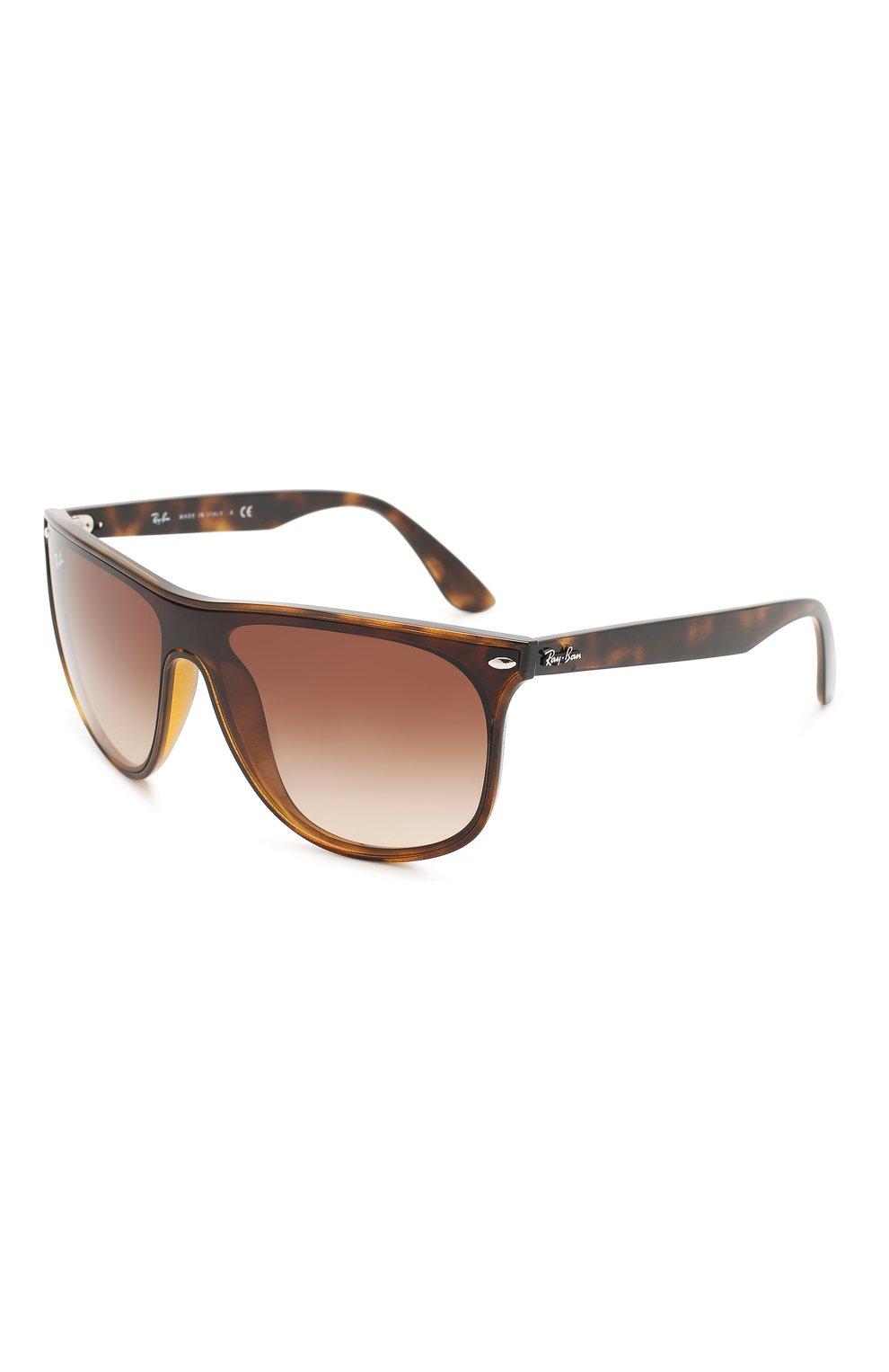 Мужские солнцезащитные очки RAY-BAN коричневого цвета, арт. 4447N-710/13 | Фото 1