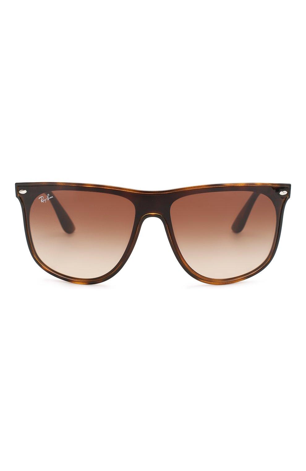 Мужские солнцезащитные очки RAY-BAN коричневого цвета, арт. 4447N-710/13 | Фото 2