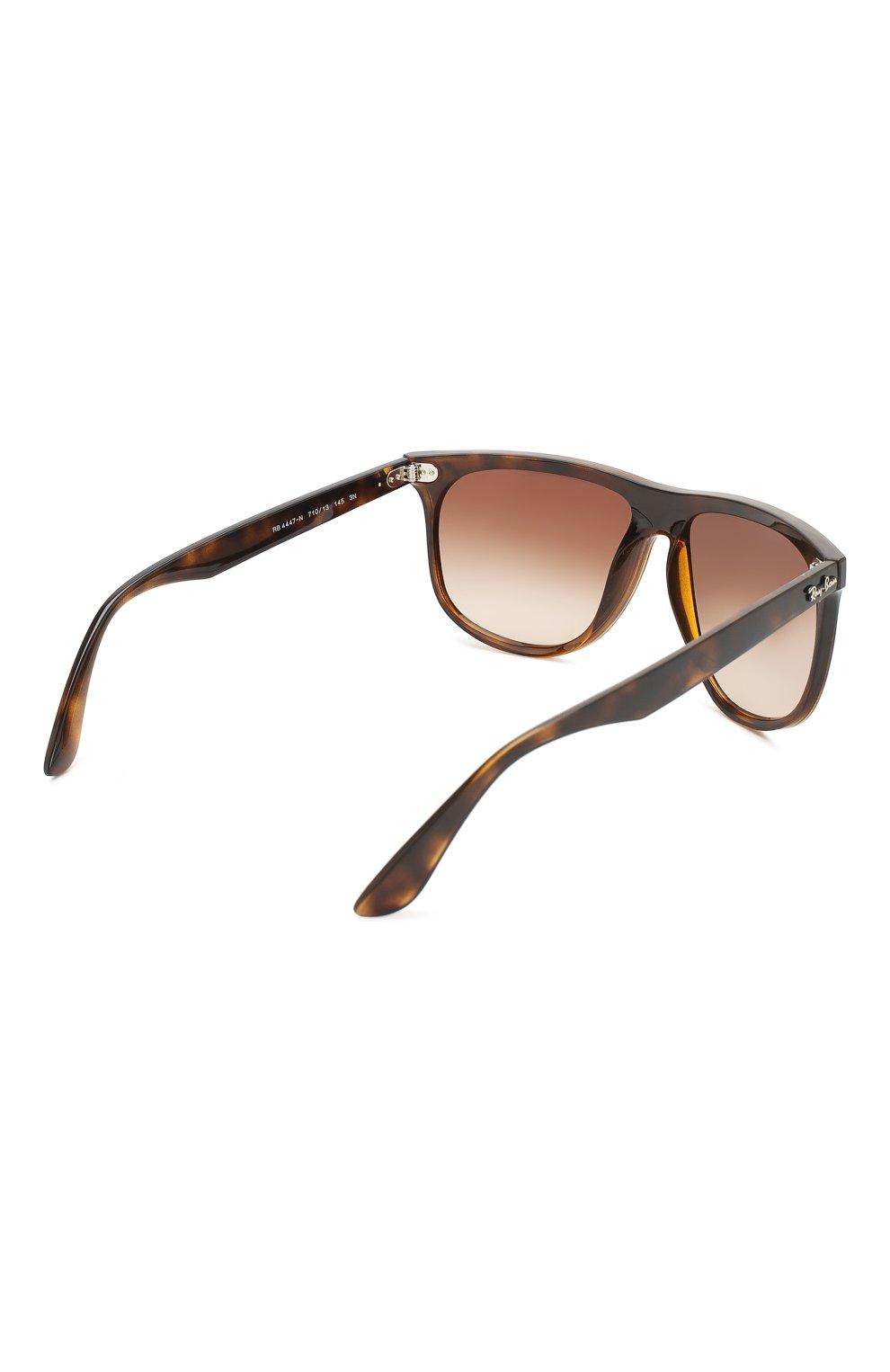 Мужские солнцезащитные очки RAY-BAN коричневого цвета, арт. 4447N-710/13 | Фото 3