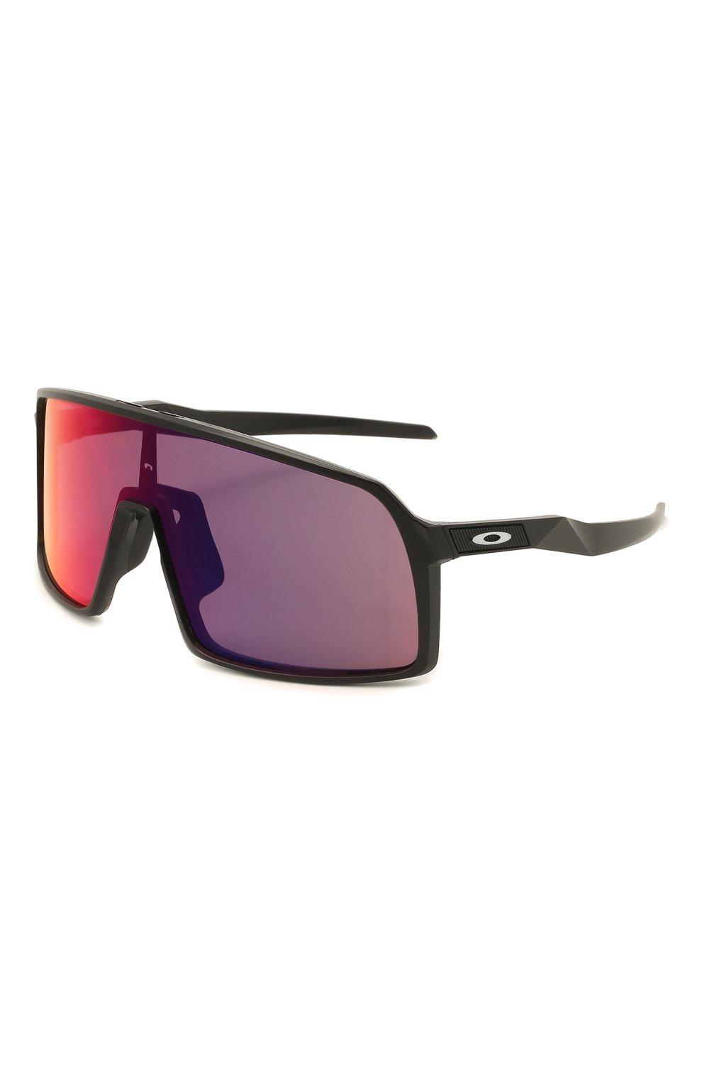 Женские солнцезащитные очки OAKLEY черного цвета, арт. 9406-940608 | Фото 1