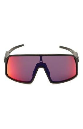 Женские солнцезащитные очки OAKLEY черного цвета, арт. 9406-940608 | Фото 3
