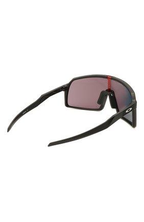 Женские солнцезащитные очки OAKLEY черного цвета, арт. 9406-940608 | Фото 4