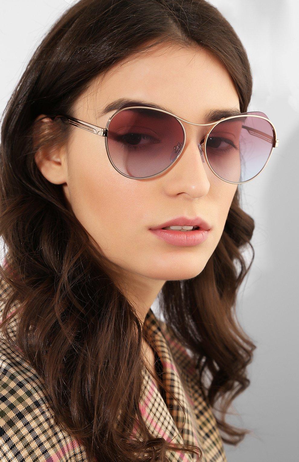 Солнцезащитные очки Miu Miu  | Фото №2