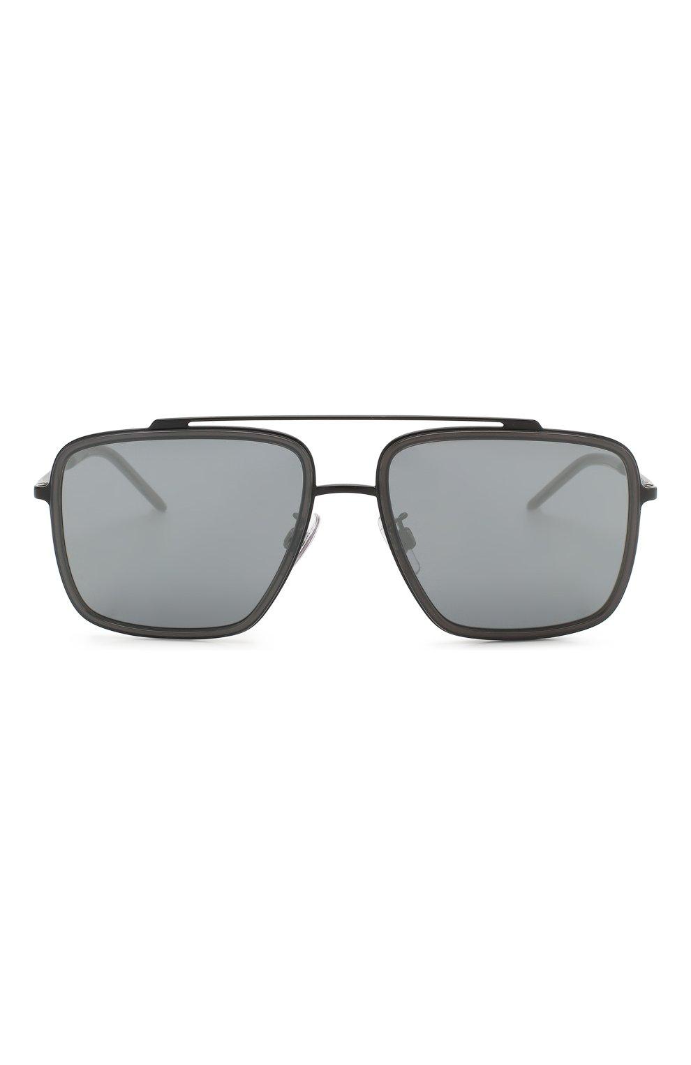 Солнцезащитные очки Dolce & Gabbana серые | Фото №2