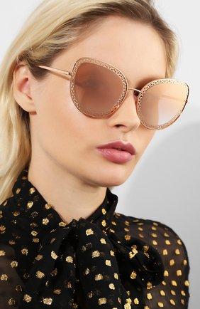 Мужские солнцезащитные очки DOLCE & GABBANA золотого цвета, арт. 2226-12986F | Фото 2