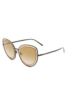 Мужские солнцезащитные очки DOLCE & GABBANA черного цвета, арт. 2226-13116E | Фото 1