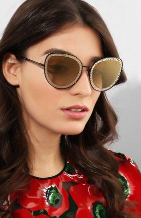 Мужские солнцезащитные очки DOLCE & GABBANA черного цвета, арт. 2226-13116E | Фото 2
