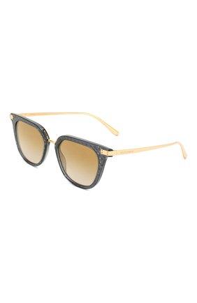 Мужские солнцезащитные очки DOLCE & GABBANA золотого цвета, арт. 4363-32106E | Фото 1