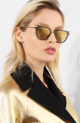 Мужские солнцезащитные очки DOLCE & GABBANA золотого цвета, арт. 4363-32106E | Фото 2