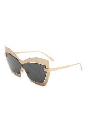 Мужские солнцезащитные очки DOLCE & GABBANA золотого цвета, арт. 2224-1224/L | Фото 1