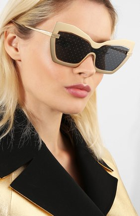 Мужские солнцезащитные очки DOLCE & GABBANA золотого цвета, арт. 2224-1224/L | Фото 2