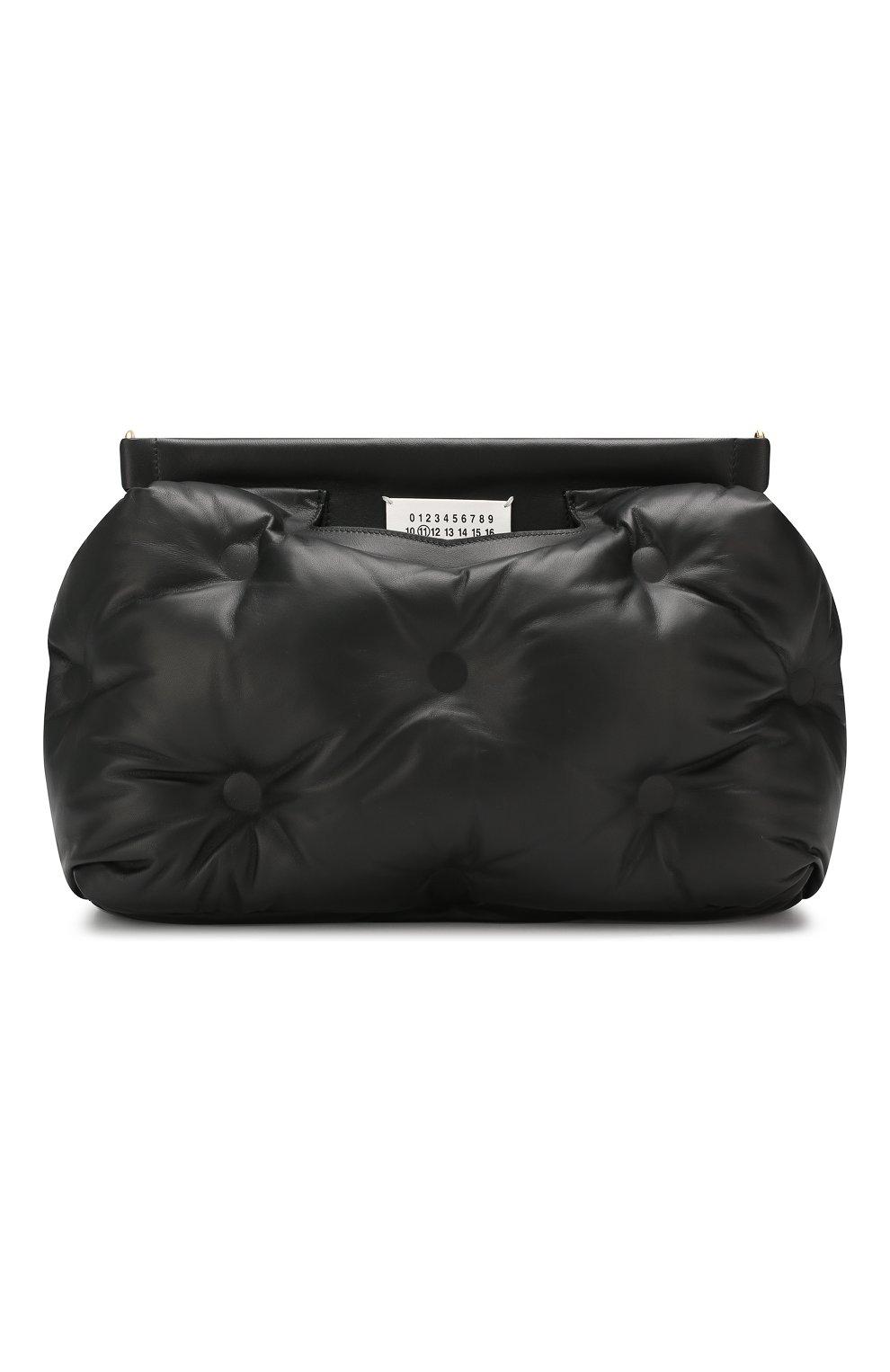 Женская сумка glam slam MAISON MARGIELA черного цвета, арт. S61WG0034/PR818   Фото 1