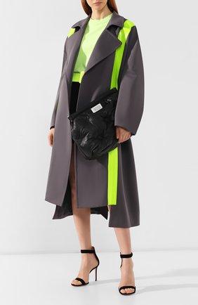 Женская сумка glam slam MAISON MARGIELA черного цвета, арт. S61WG0034/PR818   Фото 2