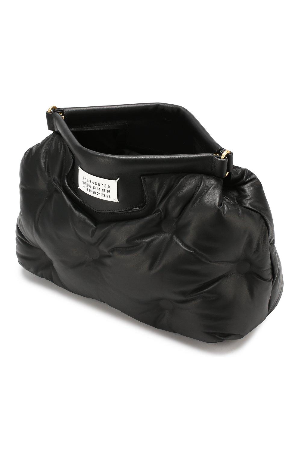 Женская сумка glam slam MAISON MARGIELA черного цвета, арт. S61WG0034/PR818   Фото 4