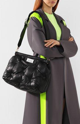 Женская сумка glam slam MAISON MARGIELA черного цвета, арт. S61WG0034/PR818   Фото 5
