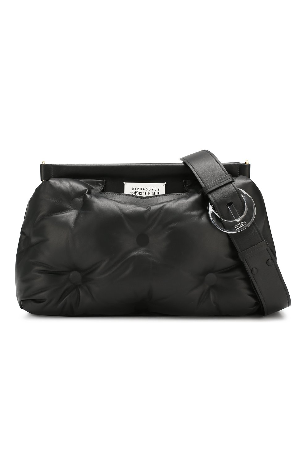 Женская сумка glam slam MAISON MARGIELA черного цвета, арт. S61WG0034/PR818   Фото 6