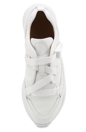 Женские комбинированные кроссовки sonnie CHLOÉ белого цвета, арт. CHC19S05175 | Фото 5