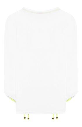 Детская пляжный лонгслив SUNUVA белого цвета, арт. S9157/7-14 | Фото 2