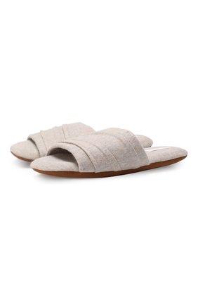 Текстильные домашние туфли | Фото №1