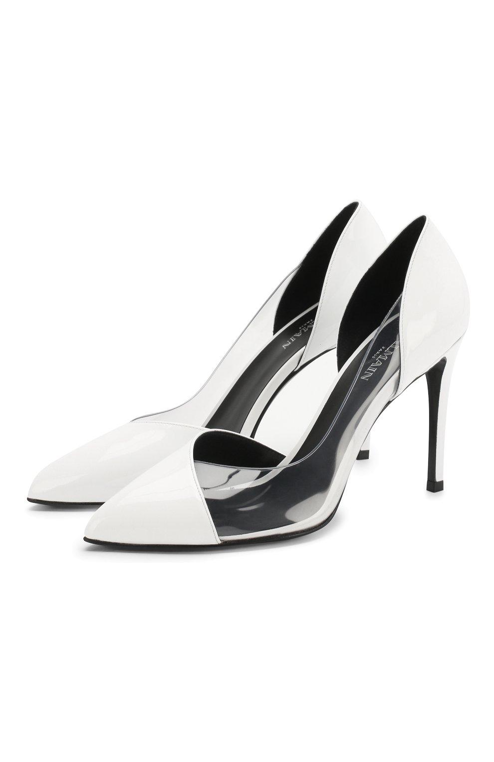 Кожаные туфли Lena | Фото №1