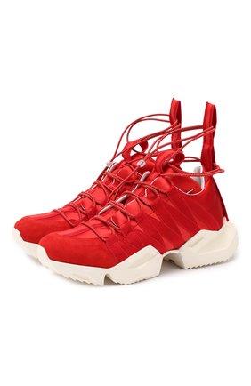 Комбинированные кроссовки | Фото №1