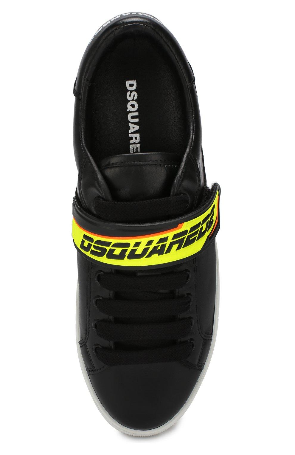 Кожаные кеды Bionic Sport New Tennis | Фото №5
