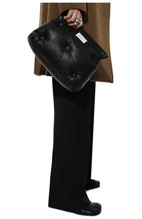 Женская сумка glam slam MAISON MARGIELA черного цвета, арт. S61WG0032/PR818   Фото 2