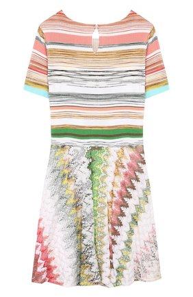 Платье из вискозы и хлопка | Фото №2