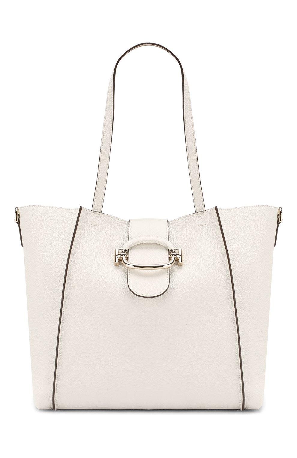 f11c792500a9 Женская сумка double t TOD'S белая цвета — купить за 105000 руб. в ...