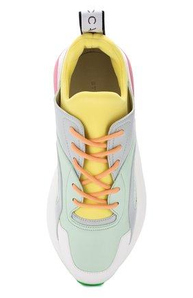 Текстильные кроссовки Eclypse Stella McCartney разноцветные | Фото №5
