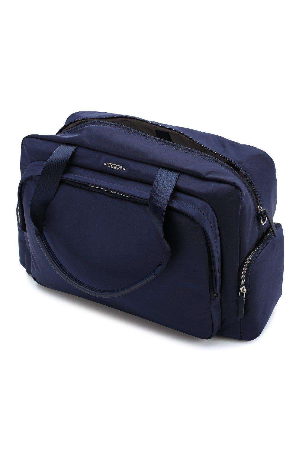Женская дорожная сумка voyageur TUMI синего цвета, арт. 0196330ULM   Фото 3