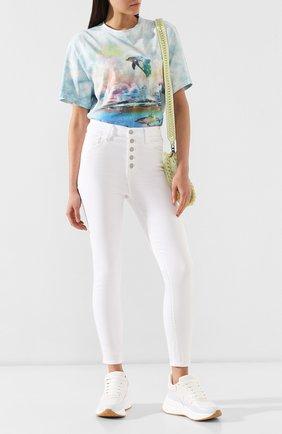 Женские джинсы-скинни J BRAND белого цвета, арт. JB002134 | Фото 2