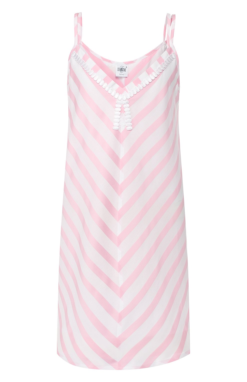 Женская хлопковая сорочка CELESTINE розового цвета, арт. 30002496/DALIAH T0P | Фото 1
